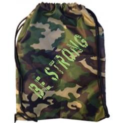 Рюкзачок из камуфлированной ткани с термопринтом